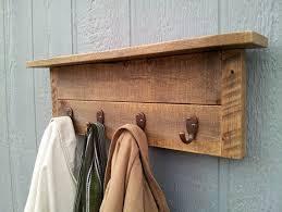 wall mounted coat rack with hooks home decorations ideas