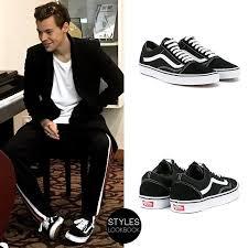 shoelace pattern for vans harry styles lookbook harry has been wearing vans old skool