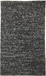 wool rug chunky knit black multi color wool rug rugs beyond