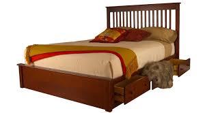 circle furniture rossport queen storage bed