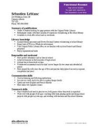 functional resume for high students transferable skills ocs blog pinterest best job search and