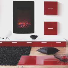 fireplace new wall hung electric fireplace decoration ideas
