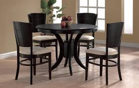 black round dining table set black round dining table iron wood