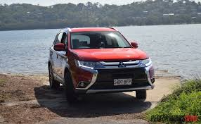 mitsubishi suv 2016 2016 mitsubishi outlander review australian launch video