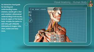 Anatomy Of Human Body Bones Visual Anatomy Human Anatomy App Youtube