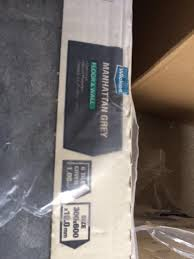 Wickes Underlay For Laminate Flooring Wickes Manhattan Grey Tile 600 X 300 11 Packs In Bishopsworth