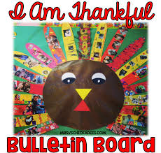 thankful turkey bulletin board mrs v s chickadees