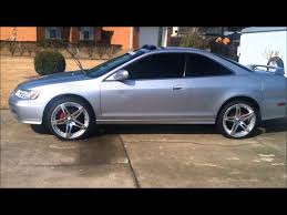 2002 silver honda accord 20 inch rims on 2002 honda accord