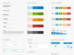 free ui style guide template for photoshop psddd co