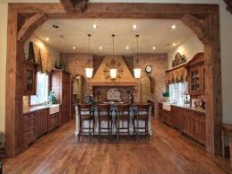 engaging kitchen island designs in rustic kitchen style pool for
