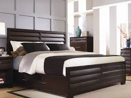 Wooden Double Bed Designs For Homes With Storage King Size Bed Frame With Drawers Full Pcd Homes Queen Plans
