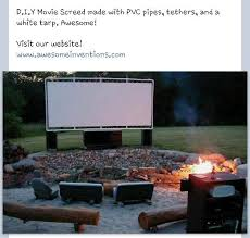 Backyard Outdoor Theater by Top 25 Best Outside Movie Ideas On Pinterest Indoor Date Ideas