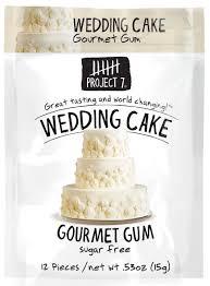 wedding cake gum project 7 sugar free gum wedding cake 12 count