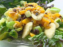 fruit salad with honey dressing recipe paula deen food network