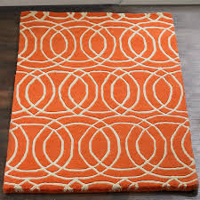 orange and grey area rug grey and orange area rug carpets rugs and floors decoration