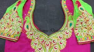 designer blouses maggam work blouses designs maanya designer s fashionworldhub
