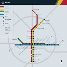 Identity Map Submission Unofficial Marta Atlanta Ga Map By Transit Maps