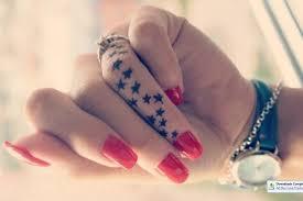 shining henna tattoo design on hand