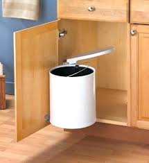 trash cans for kitchen cabinets garbage can cabinet rootsrocks club