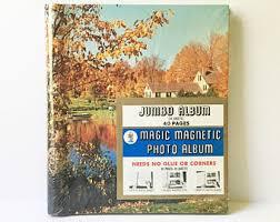 Magnetic Photo Album Pages Old Photo Album Etsy
