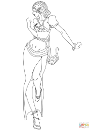 fashion coloring page free printable coloring pages