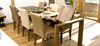 Ideas For Expanding Dining Tables Expandable Dining Room Tables Modern Extendable Contemporary Glass