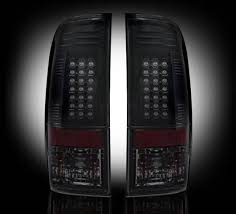 2008 ford f250 tail light bulb recon 264176bk led tail lights smoked 2008 2016 ford superduty