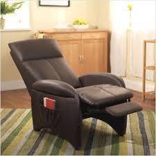 simple living addin small reclining accent chair walmart com
