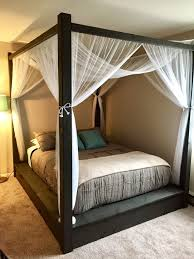 Poster Bed Canopy Best Of Canopy Curtains For Four Poster Bed Designs With Fresh