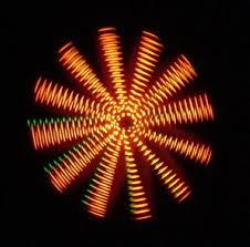 make a wind powered led light show 3 steps
