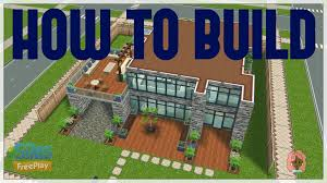 sims freeplay how to build modern house youtube