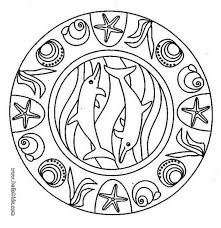dolphin mandala source ilw jpg 820 844 mandala coloring