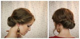 tuck in hairstyles the freckled fox hair tutorial the gibson tuck simple pretty