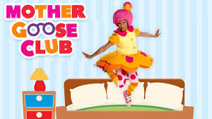 No More Monkeys Jumping On The Bed Song Five Little Monkeys Mother Goose Club Songs For Children Youtube
