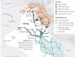 Iraq Map World by This Map Shows Which Factions Control Iraq Business Insider