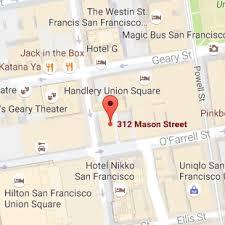 san francisco map downtown hi san francisco downtown modern central hostel hi usa