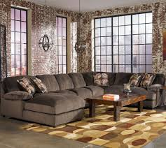 Microfiber Sectional Sofa With Ottoman by Furniture Comfortable Oversized Sectional Sofas For Your Living