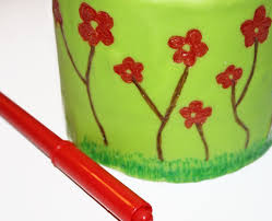 where to buy edible markers how to draw on a cake with edible markers cakejournal