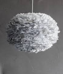 black and white ceiling light shade feather lshade by vita eos feather ceiling light