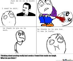 Meme Comics - bad rage comics n皸1 by chakaara meme center