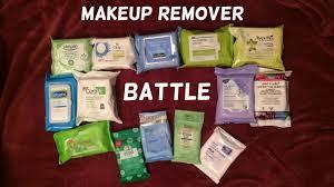 battle of the makeup wipes amanda harrer youtube