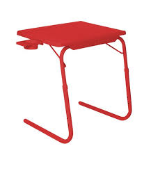 ibs tablemate kids study breakfast adjustable laptop table red