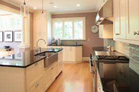 kitchen triangle with island kitchen renovation and addition john m reimnitz architect pc