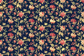 Floral Prints by White Floral Print Background