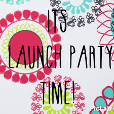 launch party banner for instagram blog facebook page to get word