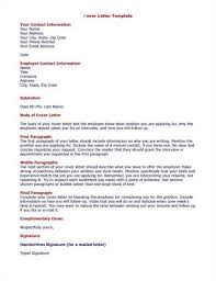 cover letter sample cover letter format free sample letters