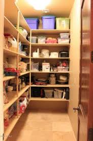 Kitchen Pantry Shelving by Smart Pantry Shelving Layout You Could Make Deeper Shelves If You