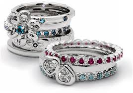 mothers rings white gold mothers rings birthstone eternity ring designs