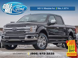 new 2018 ford f 150 lariat niles il near melrose park il golf