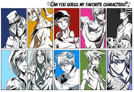 Meme Comic Characters - 80 meme can you guess my favorite characters by renkarts on